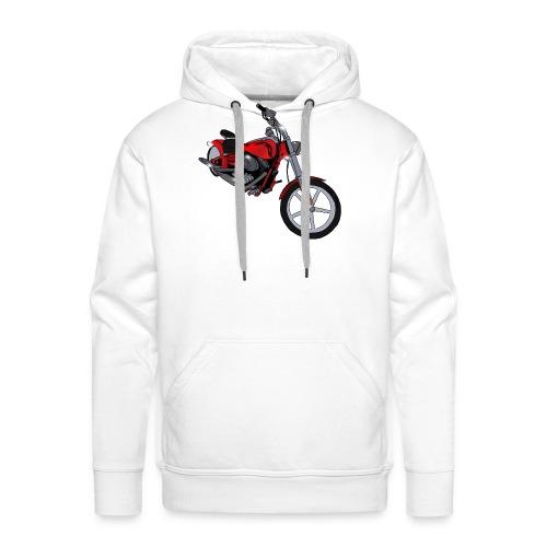 Motorcycle red - Men's Premium Hoodie