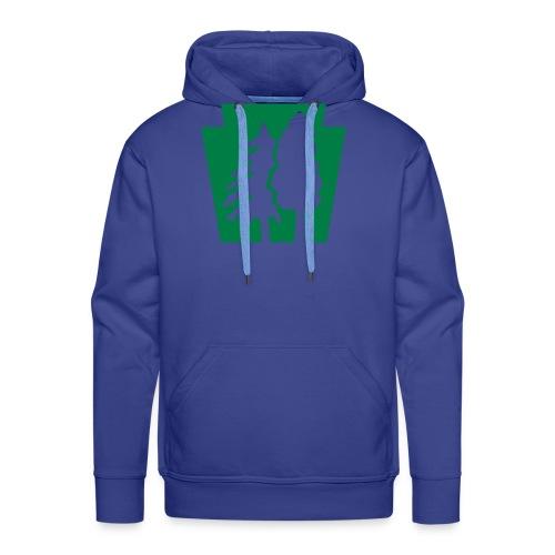 PA Keystone w/trees - Men's Premium Hoodie