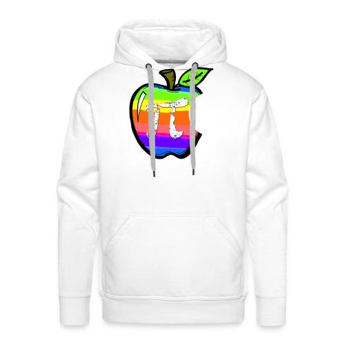 Apple Pi Rainbow:Think Irrationally - Men's Premium Hoodie