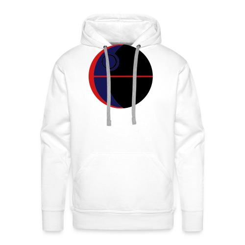 This Is Not A Moon - Men's Premium Hoodie