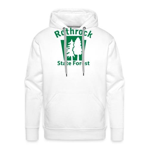 Rothrock State Forest Keystone (w/trees) - Men's Premium Hoodie