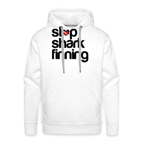 Stop Shark Finning - Men's Premium Hoodie