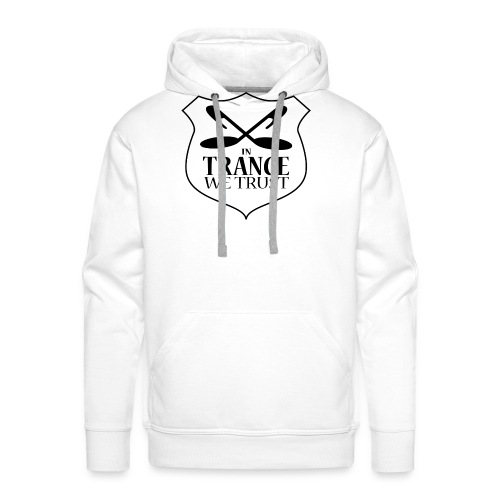 ITWT Transparent Logo Black - Men's Premium Hoodie