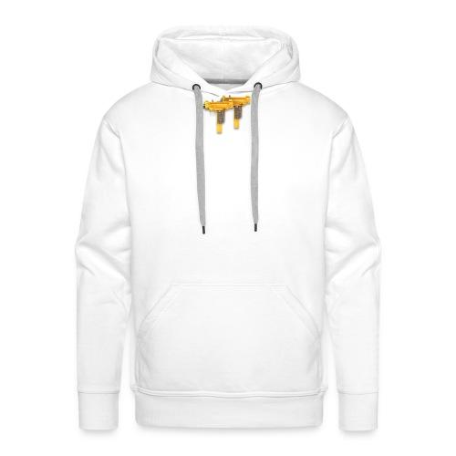 uzicalls logo - Men's Premium Hoodie