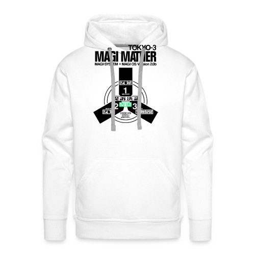 MAGI MATHER (WHITE) - Men's Premium Hoodie