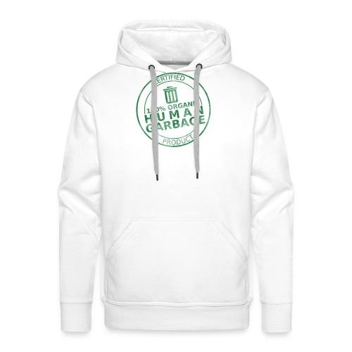 100% Human Garbage - Men's Premium Hoodie