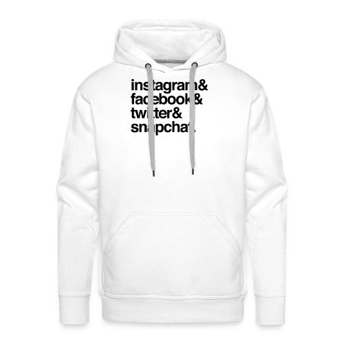 social media - Men's Premium Hoodie
