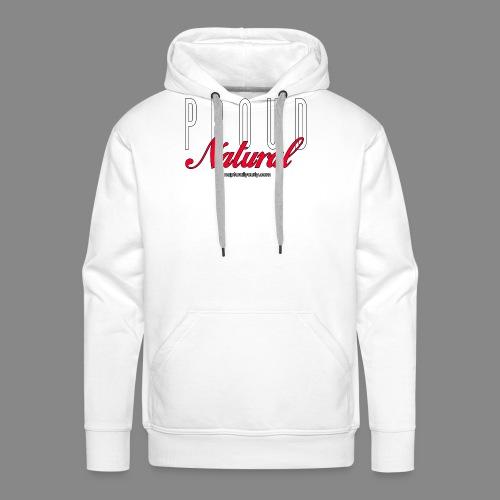 Proud Natural - Men's Premium Hoodie