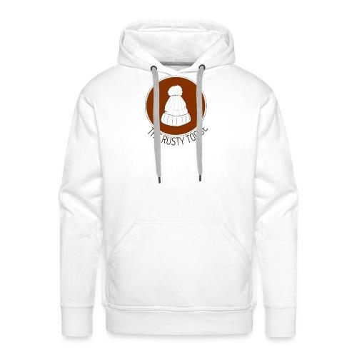 The Rusty Toque Brown Logo 2 - Men's Premium Hoodie