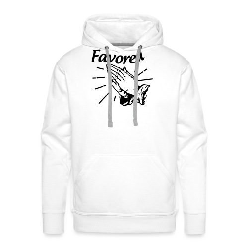 Favored - Alt. Design (Black Letters) - Men's Premium Hoodie