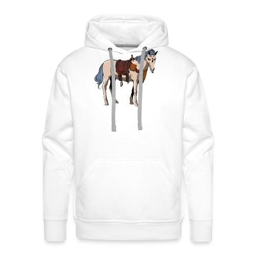 Useless the Horse png - Men's Premium Hoodie