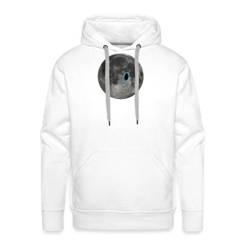 Portal on the Moon - Men's Premium Hoodie