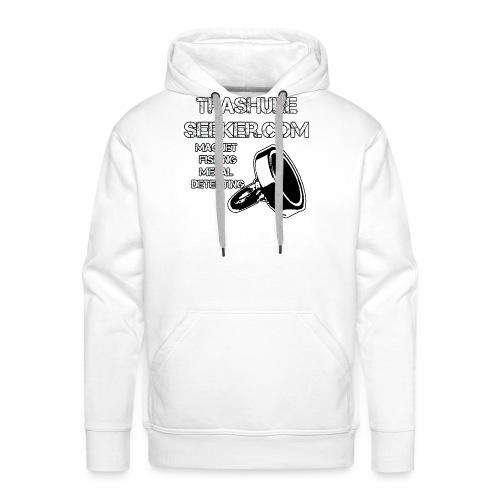 trashureseeker logo - Men's Premium Hoodie