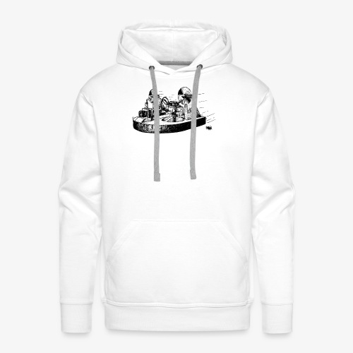 TINY WHOOV - DRAWING - Men's Premium Hoodie