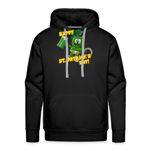 Gummibär (The Gummy Bear) Saint Patrick's Day - Men's Premium Hoodie