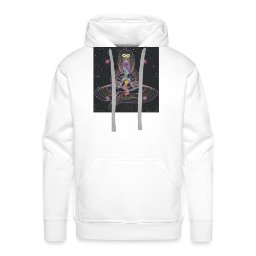 Healing Myself Cosmic Art - Men's Premium Hoodie