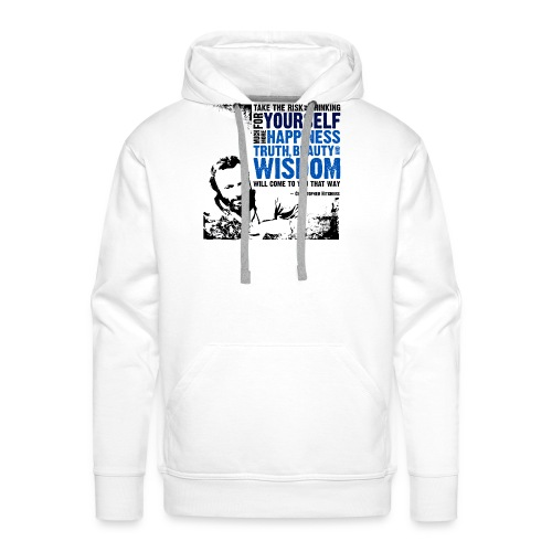 Think For Yourself - Men's Premium Hoodie