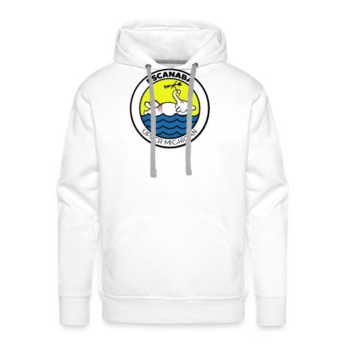escanaba michigan elephant - Men's Premium Hoodie