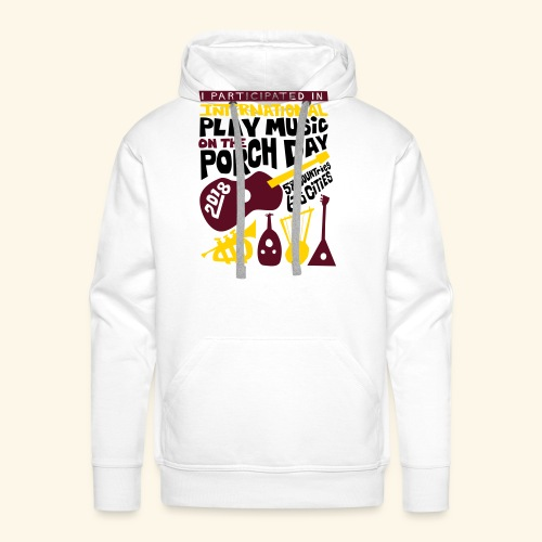 play Music on the Porch Day Participant 2018 - Men's Premium Hoodie