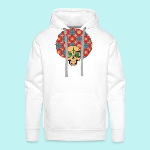 MACK DADDY SKULLY - Men's Premium Hoodie