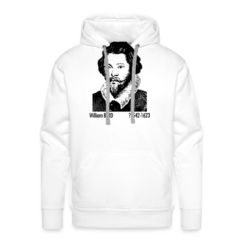 William Byrd Portrait - Men's Premium Hoodie