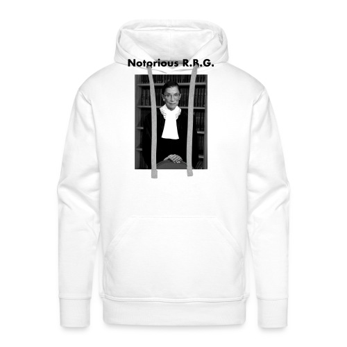 The Notorious RBG Shirts - Men's Premium Hoodie