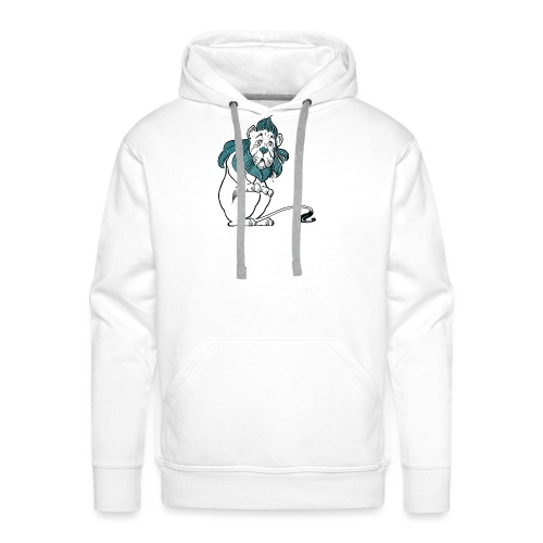 The Cowardly Lion - Men's Premium Hoodie