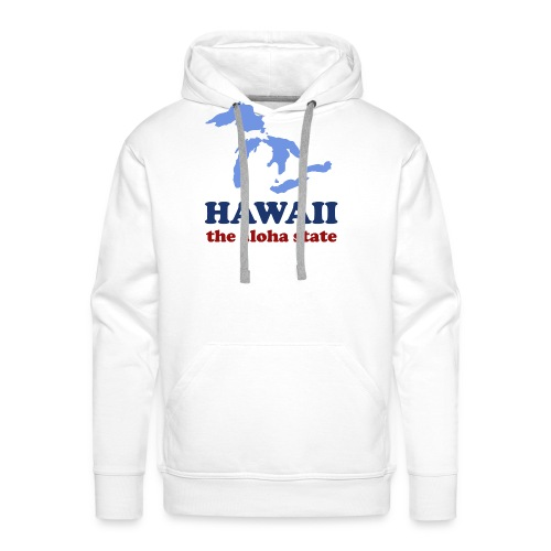 Geographically Impaired - Men's Premium Hoodie