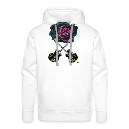 Black Rose - Men's Premium Hoodie