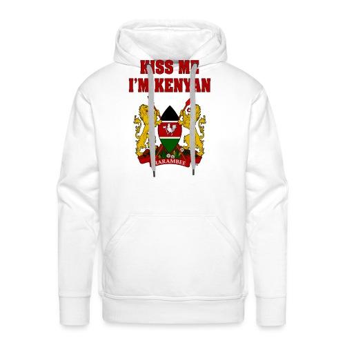 Kiss Me, I'm Kenyan - Men's Premium Hoodie