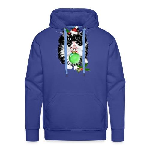 A Tuxedo Merry Christmas - Men's Premium Hoodie