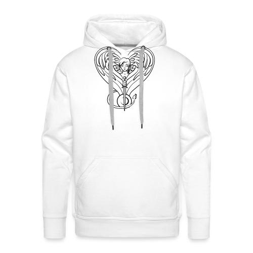 Sphinx valentine - Men's Premium Hoodie