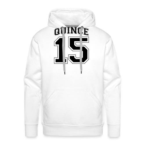 Quince 15 birthday - Men's Premium Hoodie