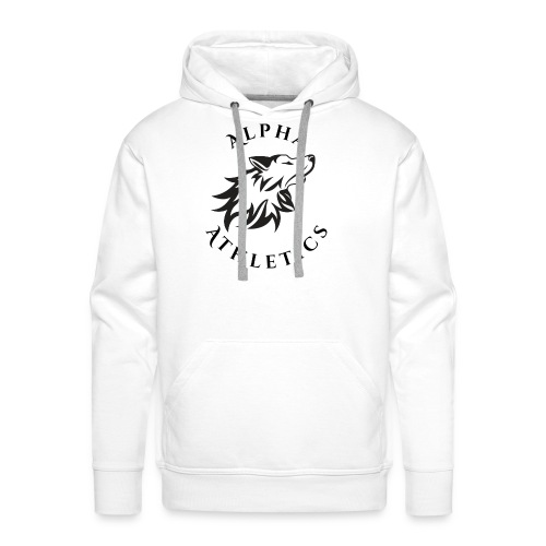 Alpha Athletics Circle 2 png - Men's Premium Hoodie
