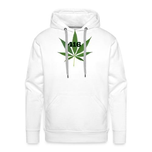 Toronto marijuana - Men's Premium Hoodie