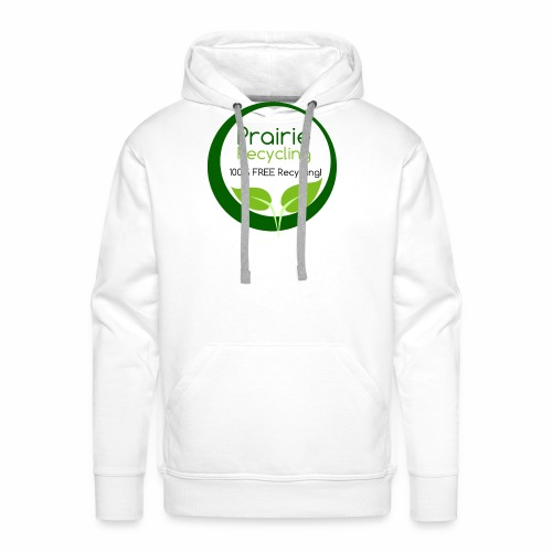 Prairie Recycling Official Logo - Men's Premium Hoodie