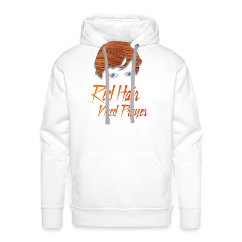 Red Hair Need Prayer - Men's Premium Hoodie