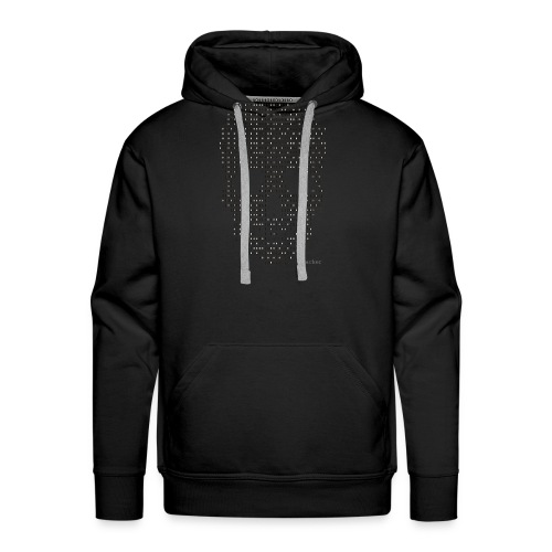 Hacker binary - Mens - Men's Premium Hoodie