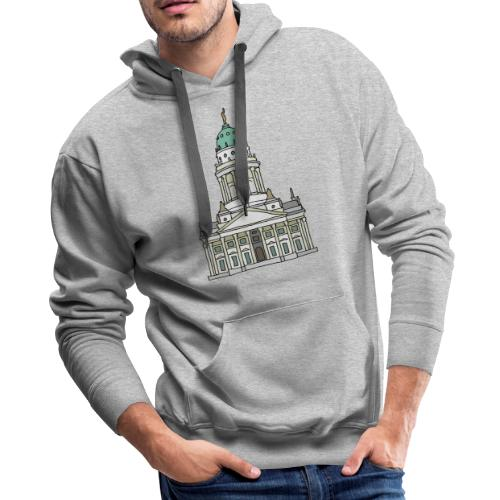 French Cathedral Berlin - Men's Premium Hoodie