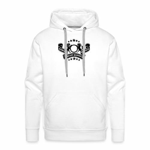 Atheist Republic Logo - Banner & Stars - Men's Premium Hoodie
