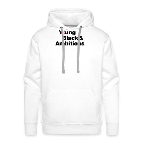 YBA white and gray shirt - Men's Premium Hoodie