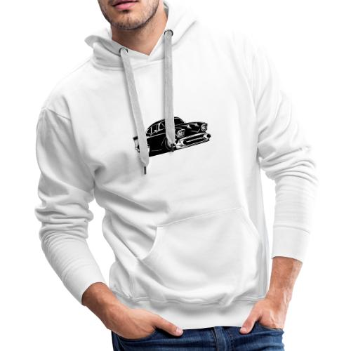 Classic American Hot Rod Car - Men's Premium Hoodie