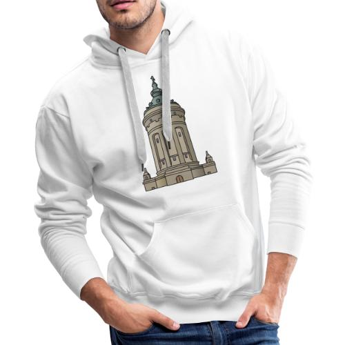 Mannheim water tower - Men's Premium Hoodie