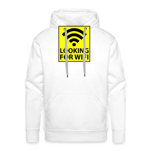 Looking For Wifi - Men's Premium Hoodie
