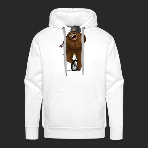 Russian Bear - Men's Premium Hoodie