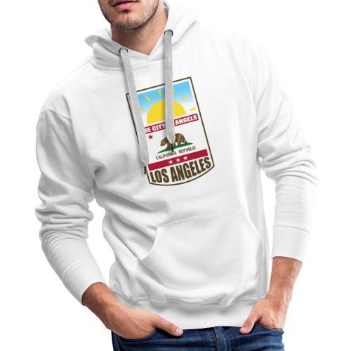 Los Angeles - California Republic - Men's Premium Hoodie