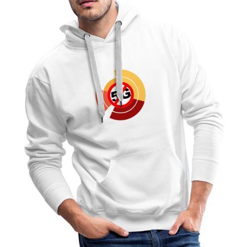 Action 5G (logo) - Men's Premium Hoodie