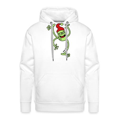 Merry Christmas Frog - Men's Premium Hoodie