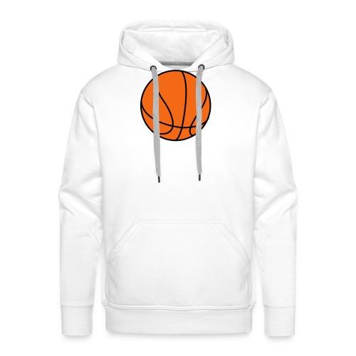 Basketball. Make your own Design - Men's Premium Hoodie