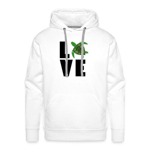 I Love Turtles - Men's Premium Hoodie